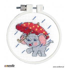 Rainy Day Elephant