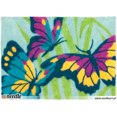 Felt Art Butterflies