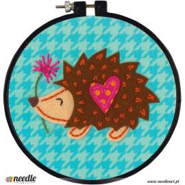 Hedgehog Felt Applique