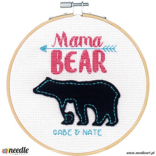 Mama Bear (Bamboo Hoop)