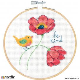 Be Kind (plastic hoop)