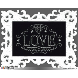 Grow Love Chalkboard