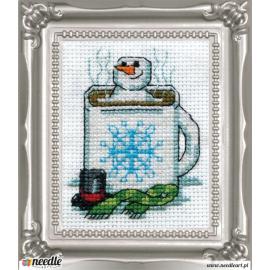 Cocoa Snowman