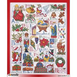 Christmas ABC Sampler
