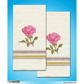 Róża - 2 ręczniki