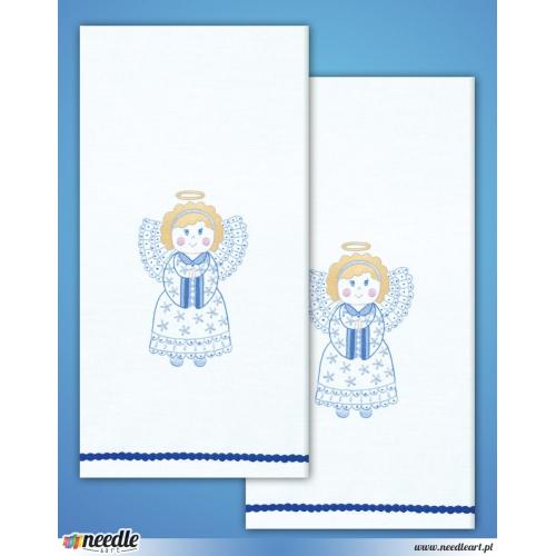 Aniołki - 2 ręczniki