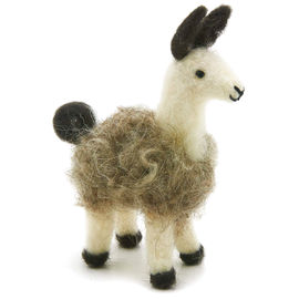 Felted Llama