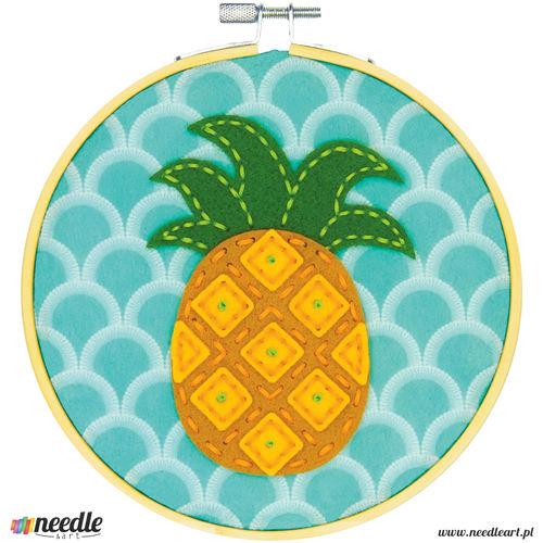 Pineapple Felt Applique