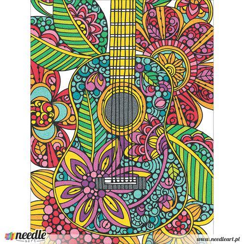 Blooming guitar