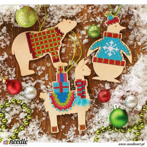 Animal Wood Ornaments