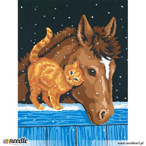 Pony And Kitten