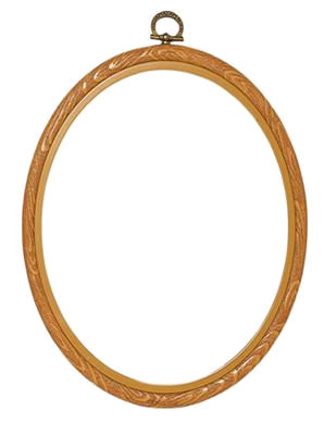 Oval frame 20x25 cm