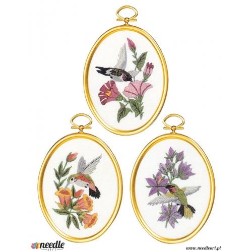 Hummingbirds Set of 3