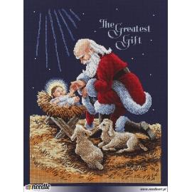 Klęczący Mikołaj