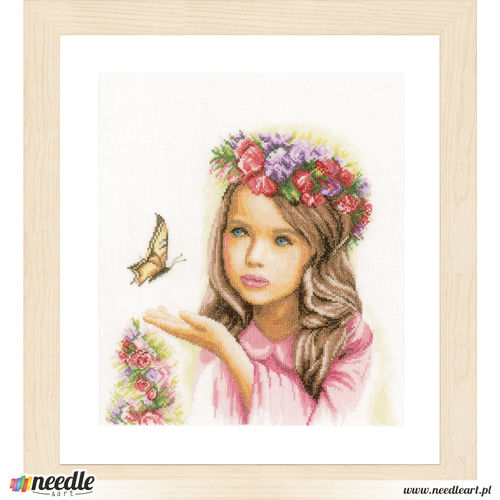 Angel With Butterflies