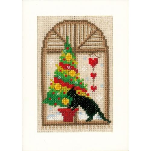 Cats - Christmas Cards (3 pcs)