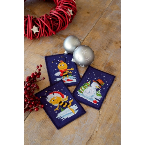 Maya And Willy Cards (3 pcs)