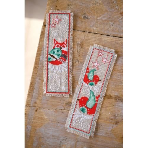 Winter Scenes - two bookmarks