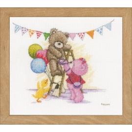 Bear Birthday - Popcorn