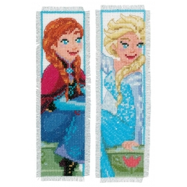 Anna And Elsa - two bookmarks