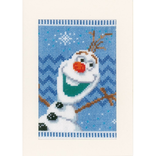 Anna, Elsa, Olaf - Cards (set of 3)