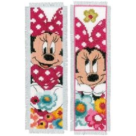 Minnie - two bookmarks