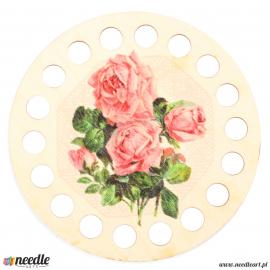 Plywood form organaizer - roses