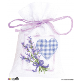 Lavender twigs & heart