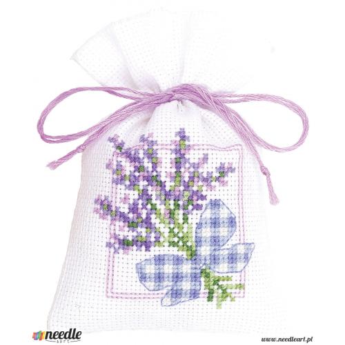 Lavender twigs & ribbon