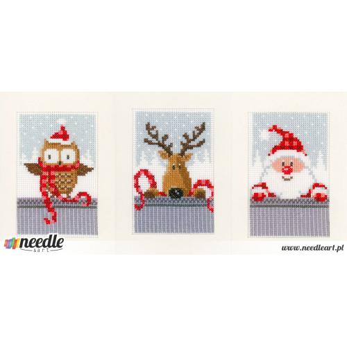 Christmas buddies (set of 3)