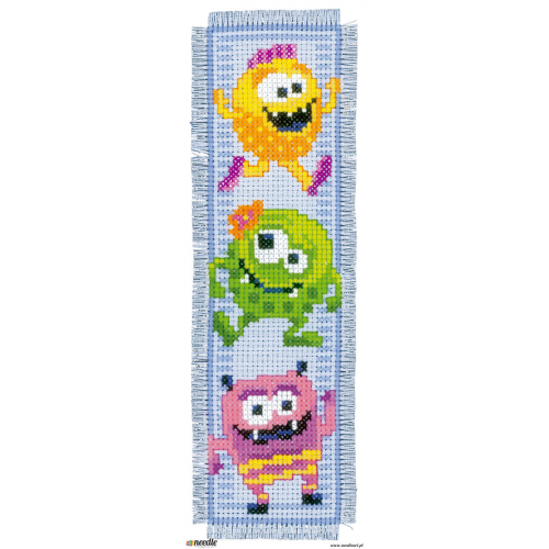 Mosters - two bookmarks