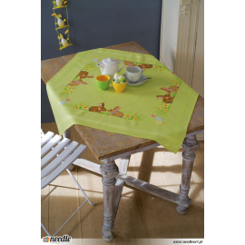Easter bunnies - tablecloth