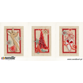 Christmas symbols (set of 3)