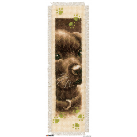 Dog and cat - two bookmarks