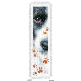 Cat and dog - two bookmarks