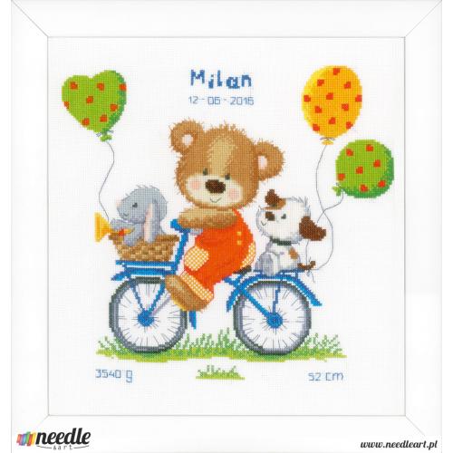 Cycling bear