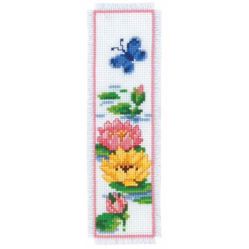 Flowers on Water - bookmark