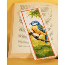Blue Bird - bookmark
