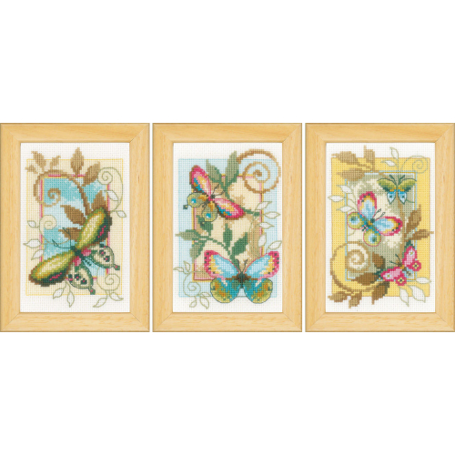 Butterflies (icons, set of 3)