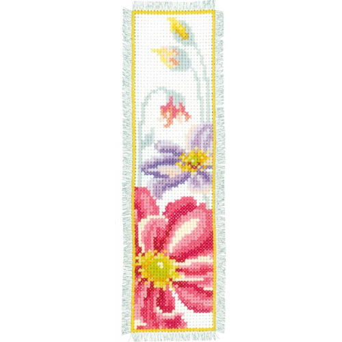 Colourful Flowers - two bookmark