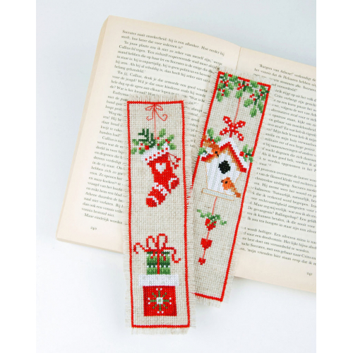 Christmas - two bookmarks