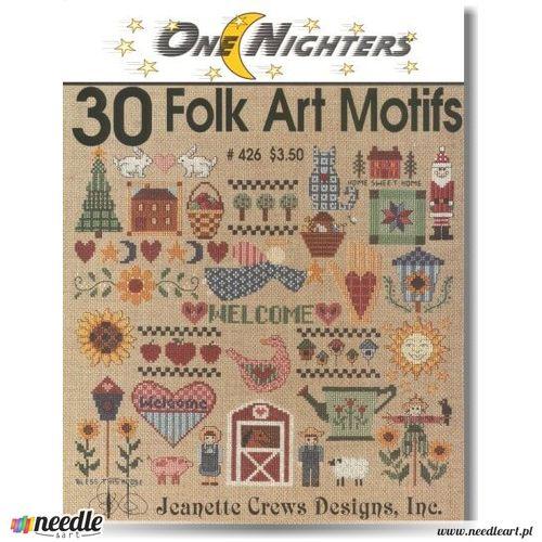 30 Folk Art Motifs