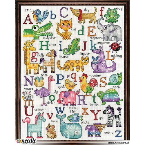 Animals ABC Sampler