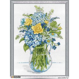 Blue & Yellow Floral