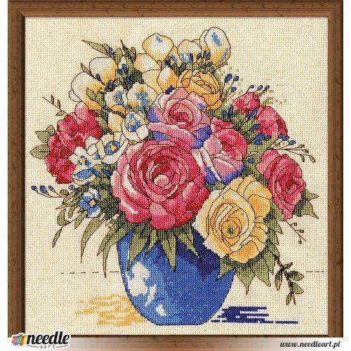 Pastel Floral Vase