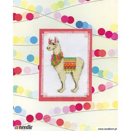 Llama Stitch & Mat
