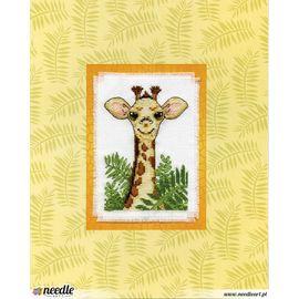 Giraffe Stitch & Mat