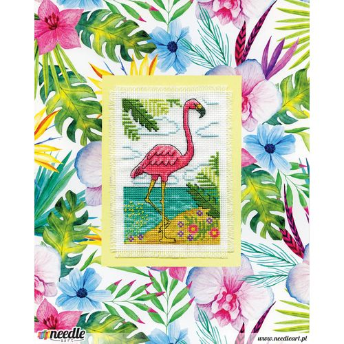 Flamingo Stitch & Mat