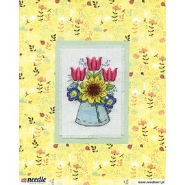 Watering Can Stitch & Mat