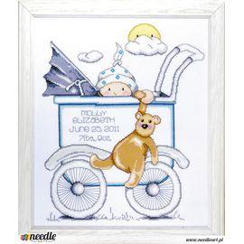 Chłopczyk w wózku